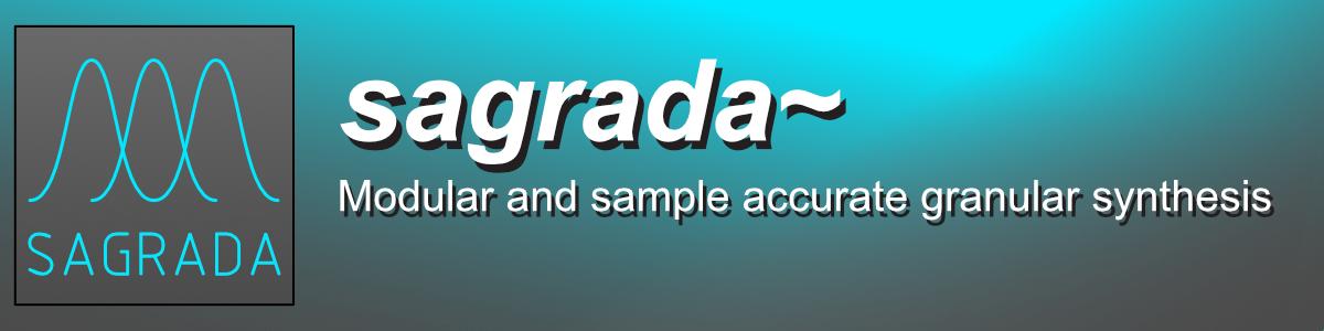 Sagrada: Sample Accurate Granular Synthesis